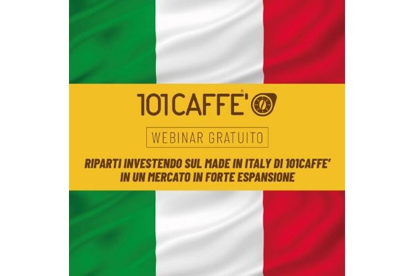 webinar 101caffè made in italy