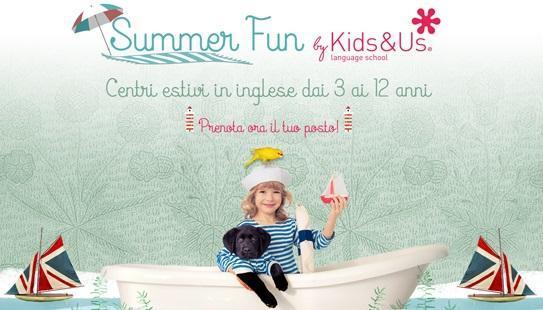 Kids&Us centri estivi in inglese